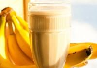 3 napitka od banane koji otapaju masne jastučiće