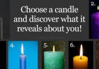 Oslonite se na svoju intuiciju i odaberite sliku jedne svijeće – Ona otkriva vašu trenutnu životnu fazu!