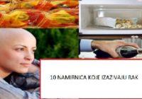 Top 10 najnezdravije HRANE koja uzrokuje RAK! (Broj 2 će vas razočarati)