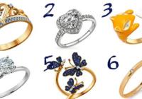 Odaberite prsten koji vam se najviše sviđa i saznajte kakva ste žena kraljica!