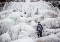 Prizor lepši i od bajke: Najlepši vodopad u Srbiji okovan ledom (FOTO)