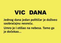 VIC DANA: O politici, raju i paklu