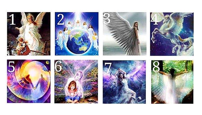 U miru pogledajte ove slike: Odaberite svog anđela čuvara kako bi primili svetu poruku
